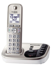 Panasonic KX TGD220N DECT 6.0 Expandable Digital Cordless Answering System